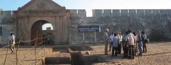 Udgravning ved fort Dansborg